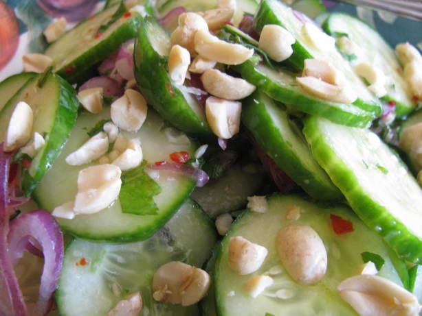 Thai Cucumber Salad With Roasted Peanuts Recipe - Food.com
