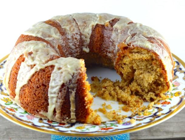 Eggnog Bundt Cake From Box