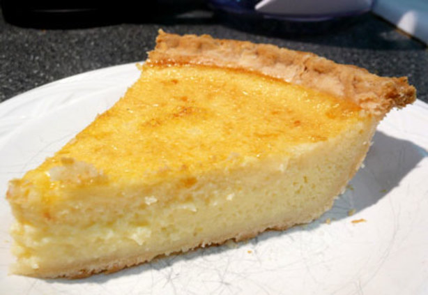 Simple Buttermilk Pie Recipe - Food.com