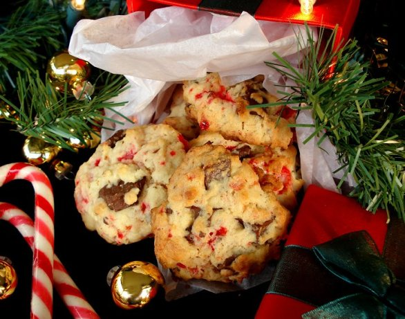 Candy Cane Chocolate Chunk Cookies Recipe - Food.com