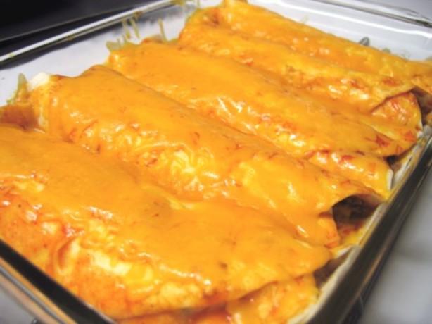 Easy Cheesy Beef Enchiladas Recipe - Food.com