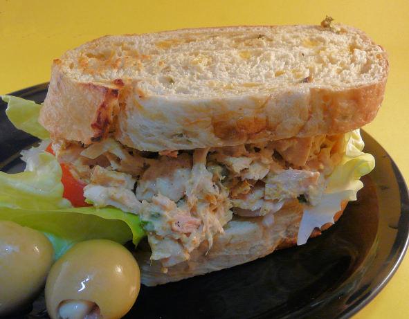 Curry tuna fish sandwiches recipe for Tuna fish recipes