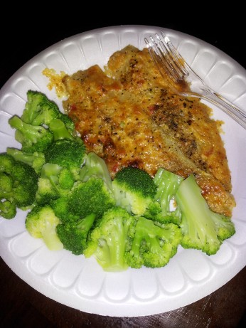 Baked pollock recipe for Baked parmesan fish