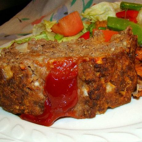 Mom S Old Fashioned Meatloaf