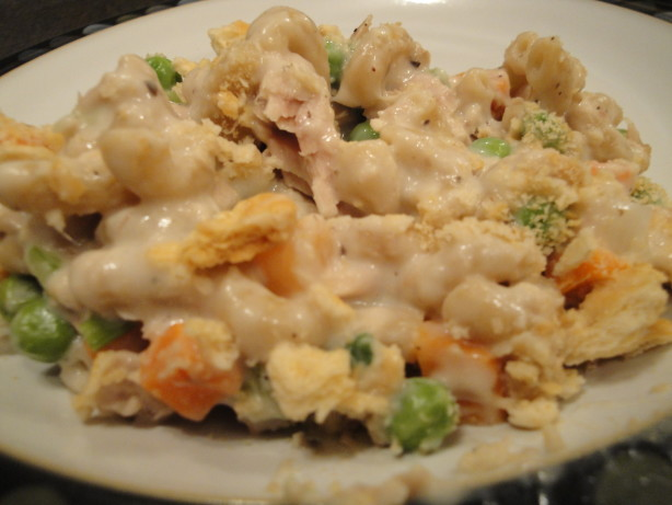 kittencals easy tuna or chicken noodle casserole recipe