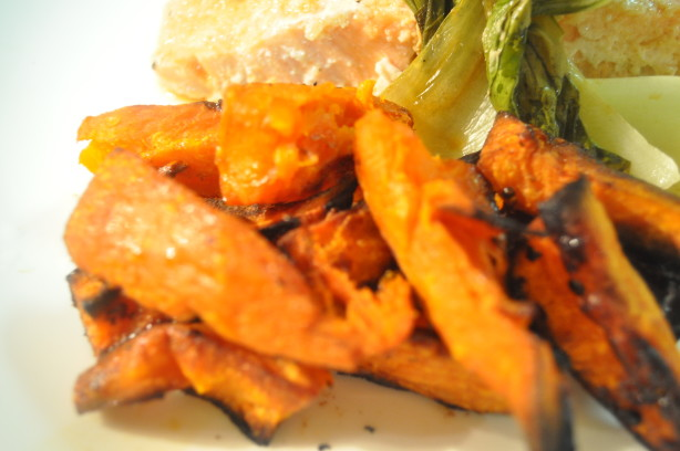 Oven Roasted Sweet Potato Wedges Recipe - Food.com