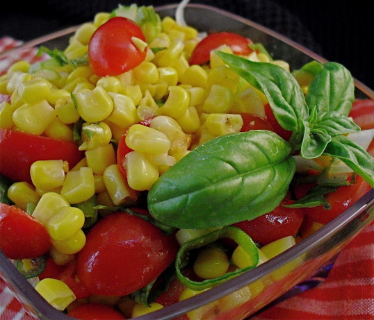 Fresh Tomato And Corn Salad Recipe - Low-cholesterol.Food.com