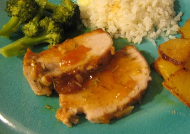 Apricot-Rosemary Glazed Pork Loin Recipe - Food.com