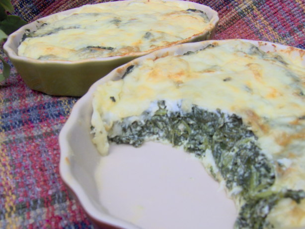 Low-Carb Muenster Spinach Pie Recipe - Food.com
