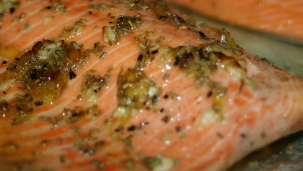 Broiled Steelhead Trout With Rosemary Lemon And Garlic