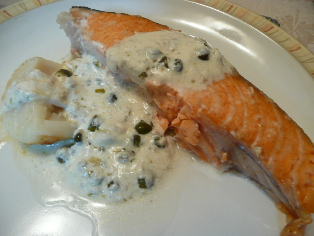 Salmon Lemon Caper Sauce South Beach