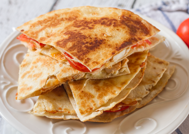 Chicken quesadilla recipe for French canape menu