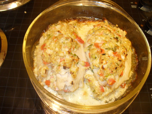 Crab stuffed fish fillets recipe for Stuffed fish with crab meat
