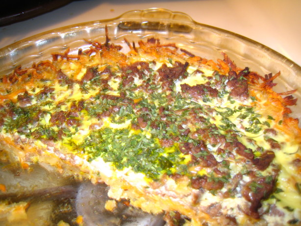 Meat And Potato Quiche Recipe — Dishmaps
