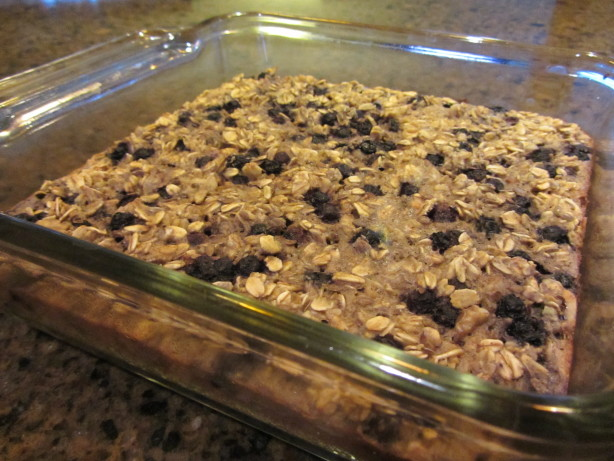 Blueberry Baked Oatmeal Recipe - Food.com