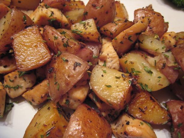 Garlic And Sage Chicken And Potato Saute Recipe - Food.com