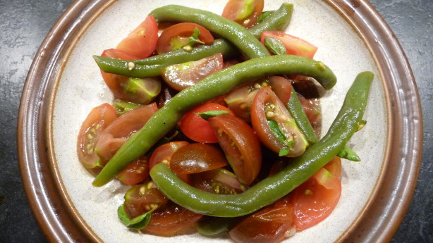 Green Bean And Cherry Tomato Salad Recipe - Food.com