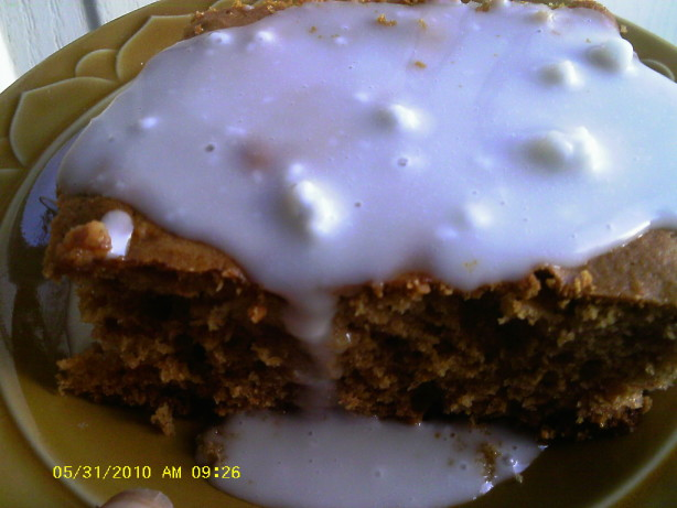 Pear Cake Using Soy Flour