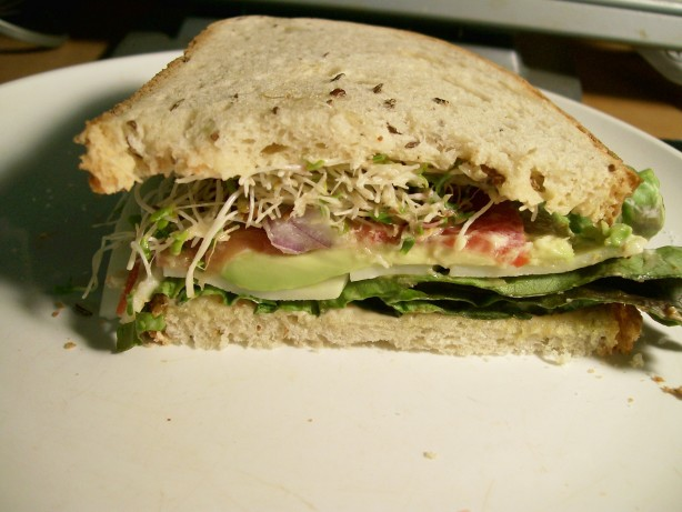Tomato, Cheese, And Avocado Sandwich Recipe - Food.com
