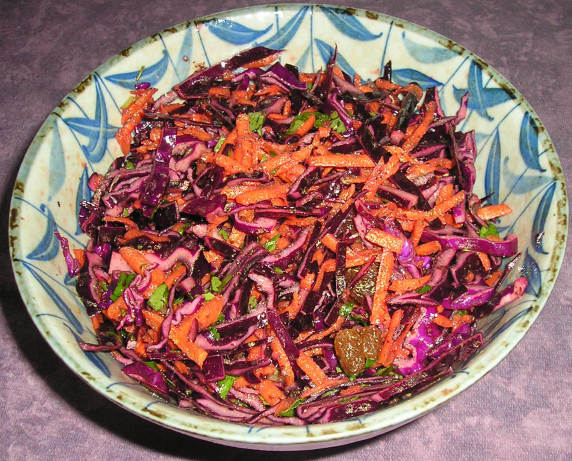 Red Cabbage And Carrot Salad RecipeFood.com