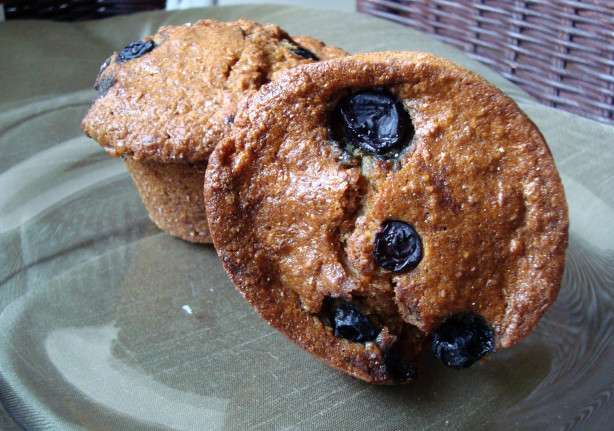 Whole Wheat Oat Blueberry Muffins Recipe - Food.com