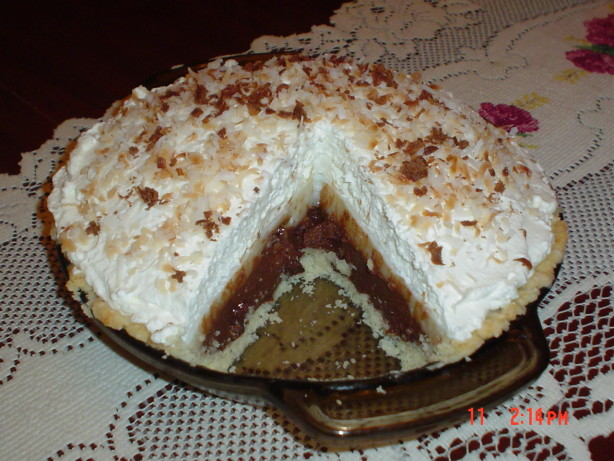 Chocolate Haupia Coconut) Pie Recipe - Food.com