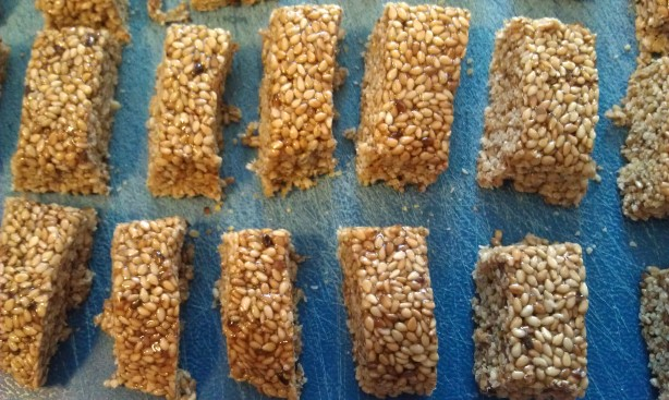 Crunchy Sesame Seed Candy Recipe Food Com
