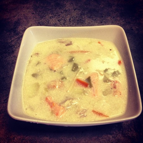Creamy norwegian fish soup recipe for Creamy fish soup recipe
