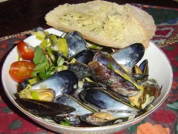 Mussels Dijonaise Recipe - Food.com