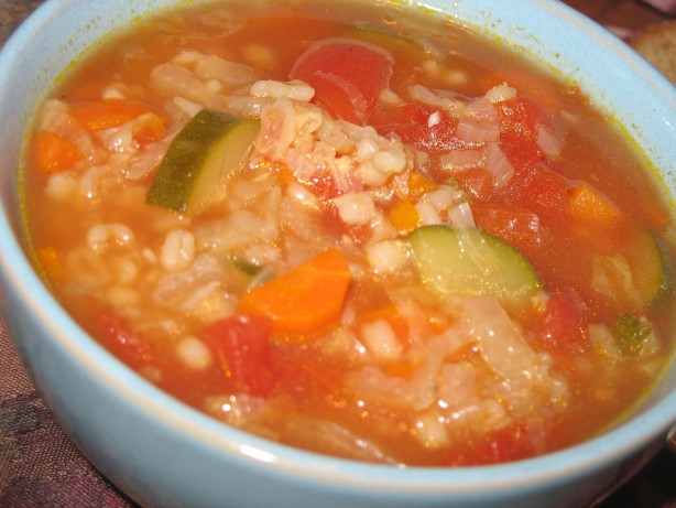 Vegetable Barley Soup Recipe - Low-cholesterol.Food.com