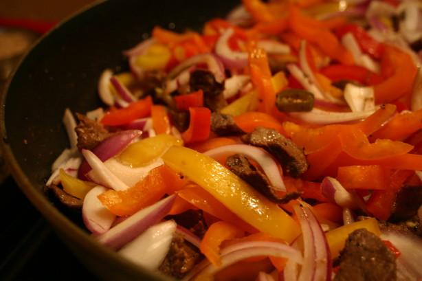 My Very Best Steak Or Chicken Fajitas Recipe Food Com