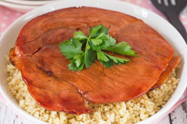 Maple Glazed Ham Steak Recipe Food Com