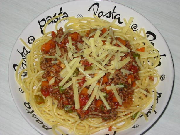 Almost Fat - Free Spaghetti Bolognese Recipe - Food.com