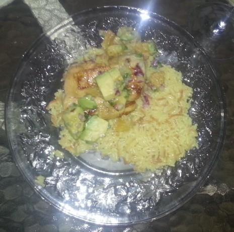 Mahi-Mahi With Blood Orange, Avocado And Red Onion Salsa Recipe - Food ...