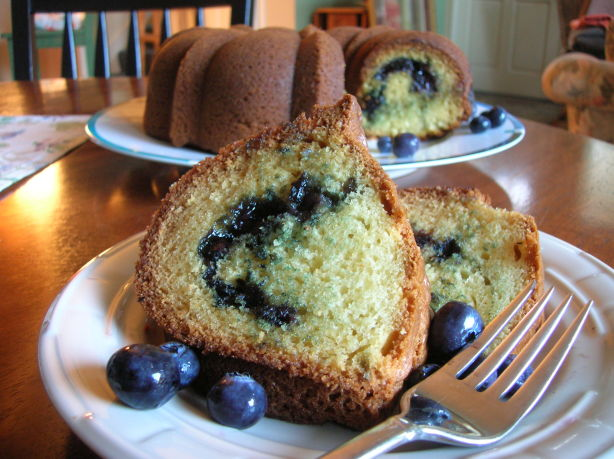 Fresh Blueberry Coffee Cake Recipe - Food.com