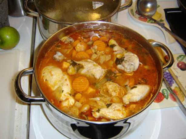 Caldo De Pollo-mexican Chicken Stew Soup Recipe - Food.com