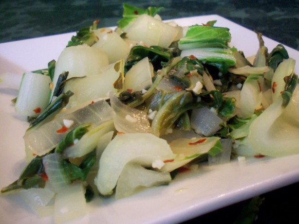 Bok Choy Stir-Fry With Ginger And Garlic Recipes — Dishmaps