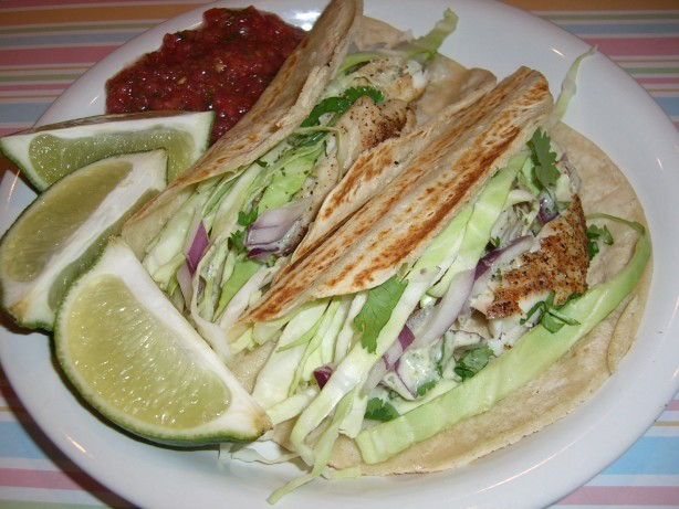 Favorite fish tacos recipe for Fish tacos food network