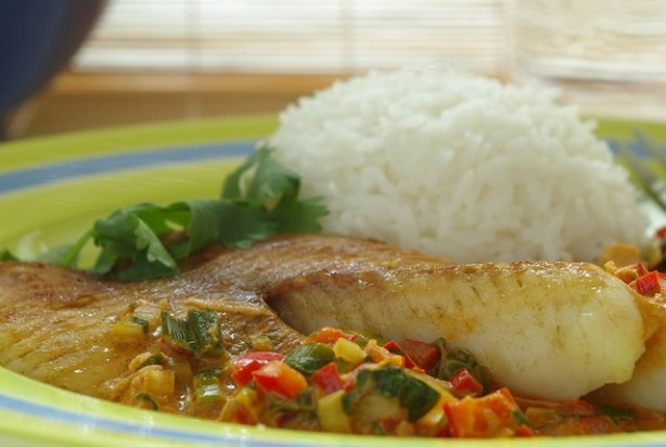 Broiled Tilapia With Thai Coconut- Curry Sauce Recipe - Food.com