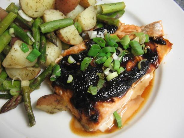 Miso- Glazed Salmon Recipe - Food.com