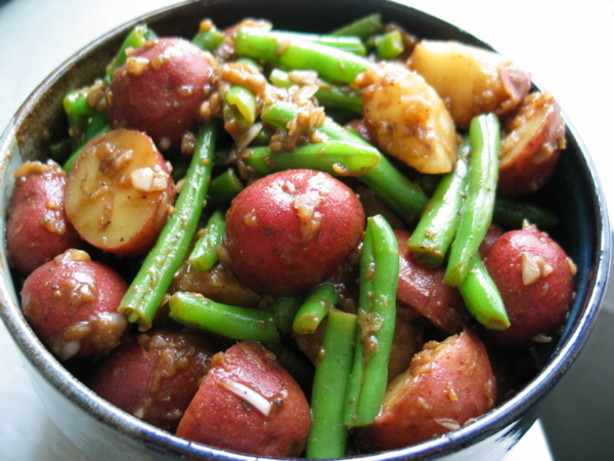 Potato-green Bean Salad With Anchovy Vinaigrette Recipes — Dishmaps