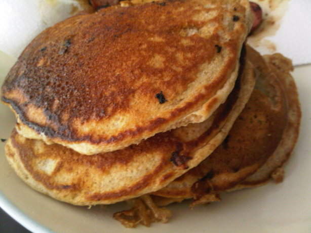 Banana Pecan Whole Wheat Pancakes Recipe - Food.com