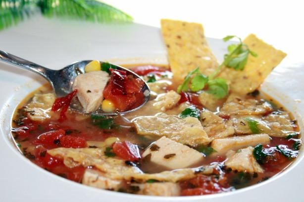 Mexican Chicken Tortilla Soup Recipe - Food.com