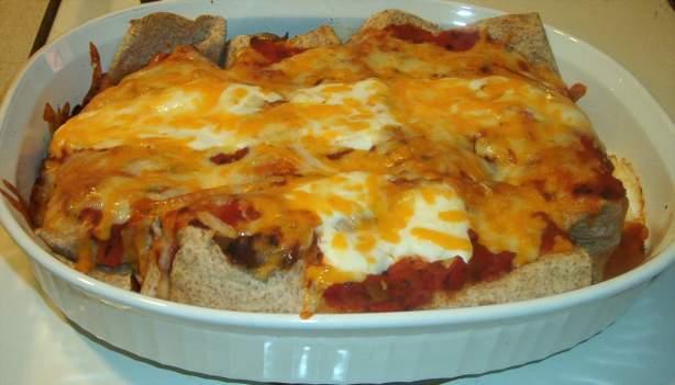 Leftover Beef Enchiladas Recipe Food Com