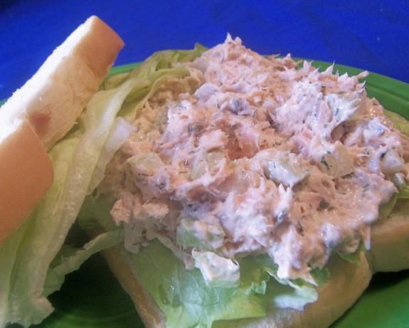 Quick Leftover Salmon Salad Recipe — Dishmaps