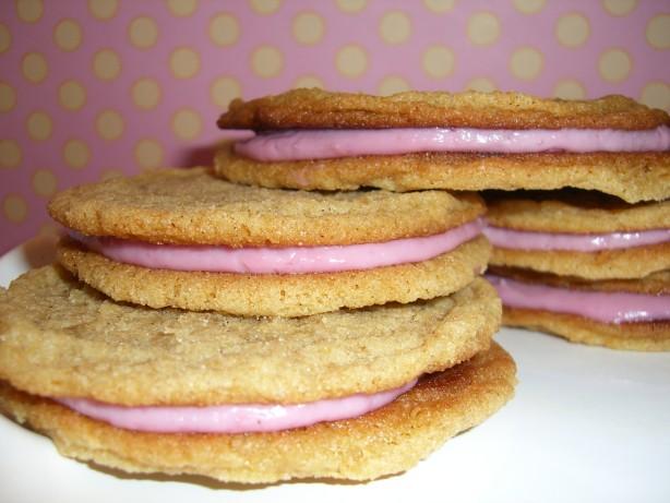 Raspberry Cream Sandwich Cookies Recipe - Food.com