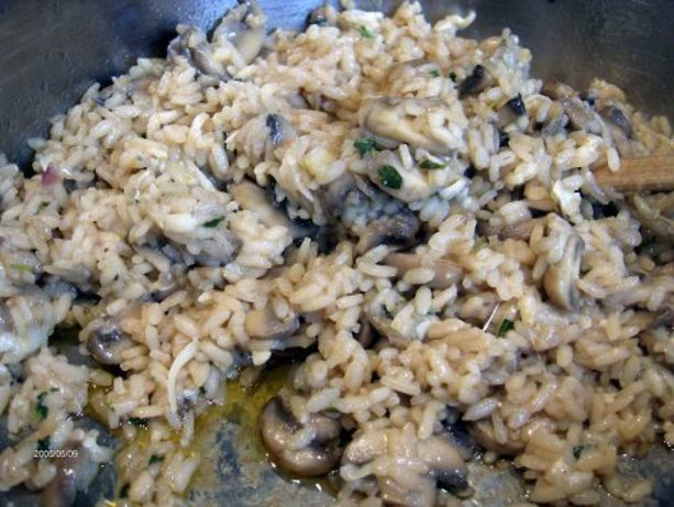 Wild Mushroom Risotto Recipe - Food.com