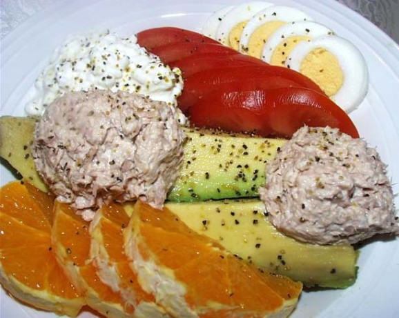 Tuna Stuffed Avocado Recipe - Food.com