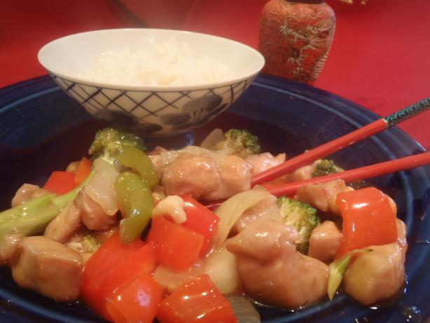 Cashew Chicken And Asparagus Stir Fry Recipe - Food.com