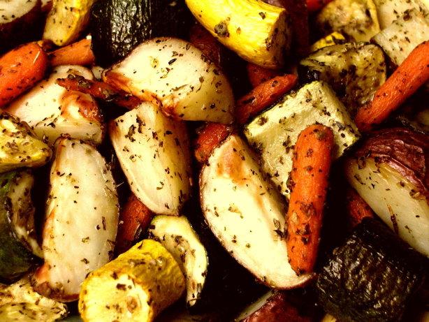 Italian Roasted Vegetables Recipe Food Com